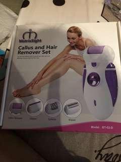 🚚 Ladies hair remover set