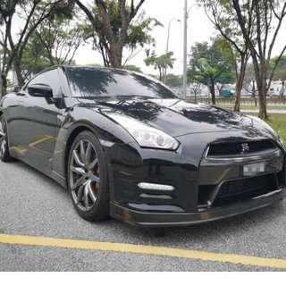 USED NISSAN GTR35 3.8 BLACK EDITION JPN SPEC 2015/2018