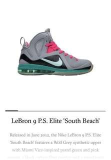 LeBron 9 PS Elite South Beach 997add9bcc