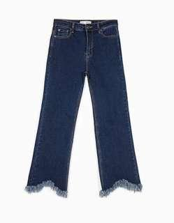 Cropped Flare Jeans