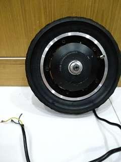 TTL90 10 inch 52v 600W Speed Motor with CST Tyre and tube