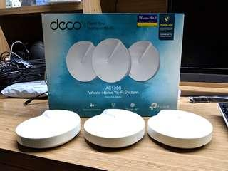 TP-Link Deco M5 (3 pack) AC1300 MU-MIMO Dual-Band Whole Home Mesh Wi-Fi System