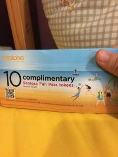 Sentosa fun pass tokens