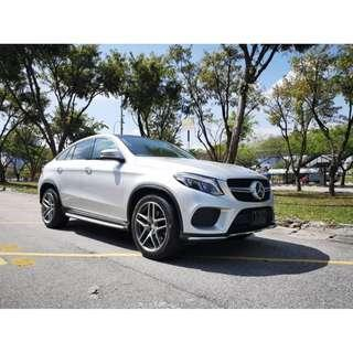 Mercedes Benz GLE350d Coupe AMG 3.0D Diesel Turbo Unreg 2016