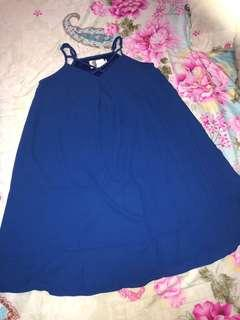 🚚 Sleeveless Dress in Royal Blue