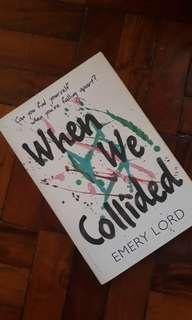 Where we collided YA book