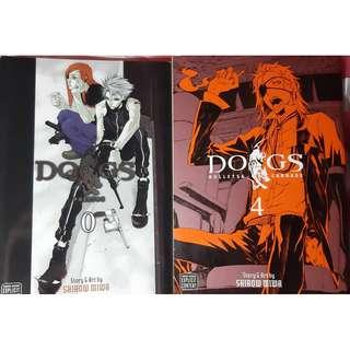 Dogs: Bullet and Carnage volume 0 and 4