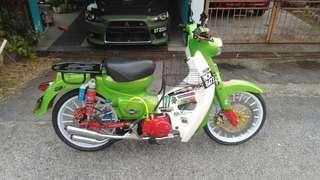 Demak rare single seat Honda Samah