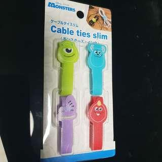 🚚 Monsters, Tsum Tsum Cable ties slim