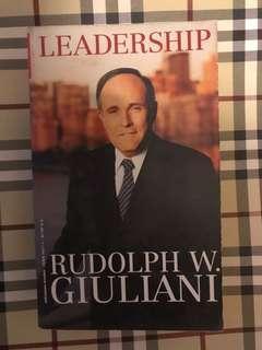 Leadership Rudolph w.giuliani