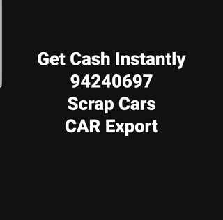 Scrap your car body for extra cash!!! Best price in town guaranteed !!! Call 94240697 for quotatoon
