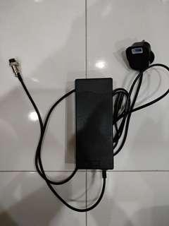 52v 2A Charger with safety mark