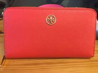 Tory Burch Wallet 橙紅色
