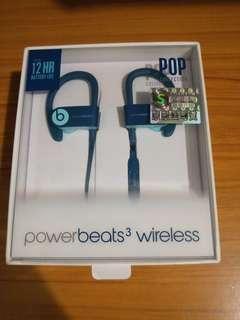 Beats Powerbeats 3 Wireless POP 藍色(夜藍)