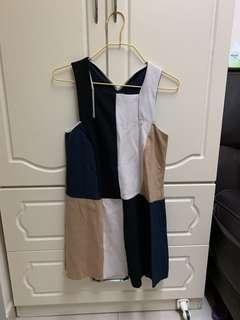 Zara dress OL 斯文裙