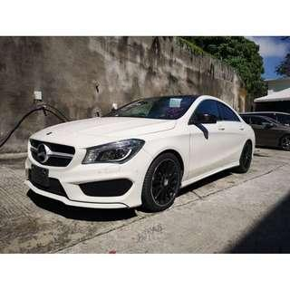 P.ROOF R.CAM Mercedes Benz CLA250 2.0 AMG SPORTS UNREG JPN SPEC