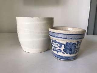 2 Ceramics Vases