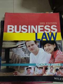 🚚 Business Law By Nickolas James