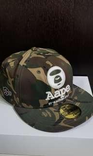 Aape x New Era 59 fifty Cap baseball camo 迷彩 棒球帽