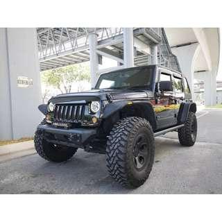 MILITARY WAR Jeep WRANGLER 3.6 UNLIMITED SPORTS XX JPN SPEC UNREG
