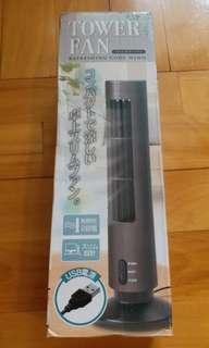 日本直送USB Tower Fan桌上直立式風扇