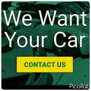 $$$ WE WANT YOUR VEHICLES