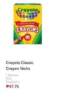 Crayons 16 pieces Set Of Crayons