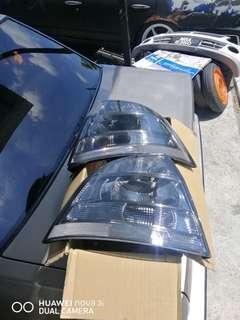 Saga BLM Clear Smoke Tail Lamp