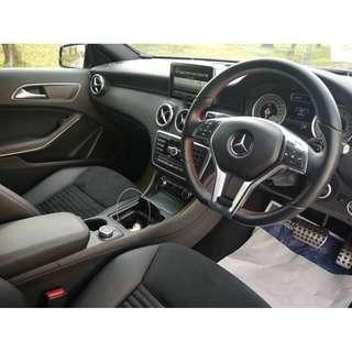 NIGHT EDITION SPORTY Mercedes Benz A180 AMG YOUNG UNREG JPN SPEC