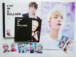 (WTS) One In a Million by jin10seconds Fansite Merch BTS JIN