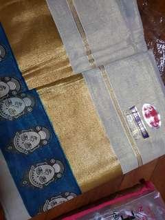 🚚 Kerala saree