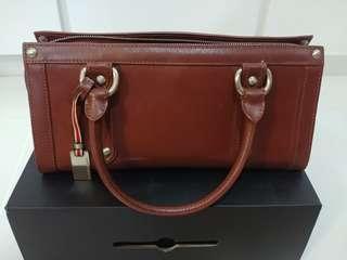 Toscano leather handbag