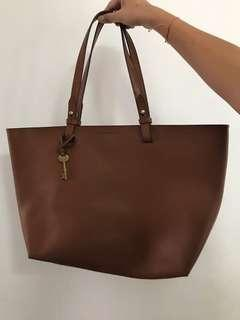Fossil Brown Bag