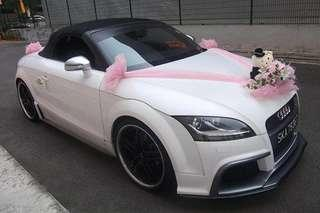 Audi TT Cabriolet for your wedding (self-drive)
