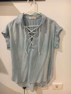 Bella Dahl summer shirt