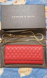 100% authentic original Charles & Keith Long Clutch Wallet