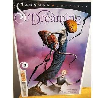 The Sandman Universe Dreaming #2 2018 DC Vertigo 1st First Print