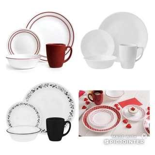 Corelle Dinnerware 16pcs set of 4