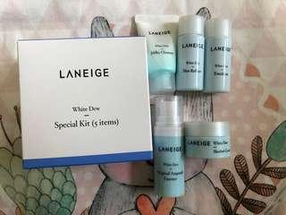 Laneige Trial Kit White Dew