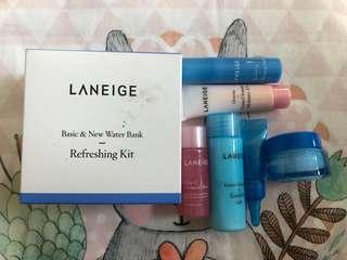 Laneige Refreshing Kit Basic & New Water Bank