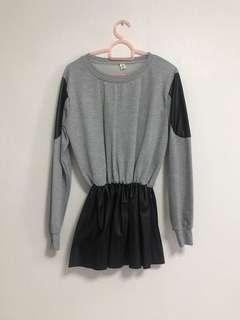 🚚 Grey Peplum Top/Dress