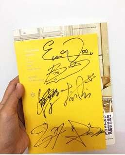 ASTRO Spring Up Album Signed By All Members 👻 (Album & CD Only)