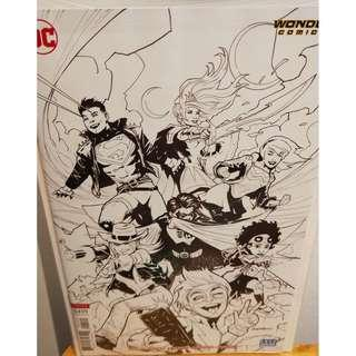 Young Justice Vol 3 #1 Cover B Variant Patrick Gleason Sketch Cover NM