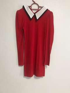 🚚 Red smart dress