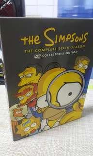 🚚 Simpsons Complete 6th Season DVD Box Set