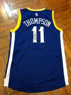 Klay Thompson Golden State Warriors Autographed Jersey
