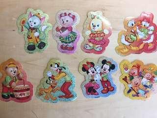 最新新年限定迪士尼貼紙