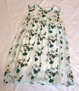 Baby doll floral dress
