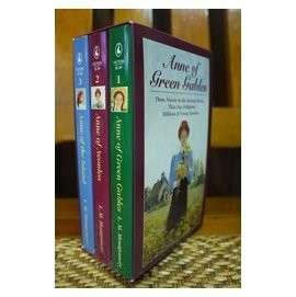雨之舖● 英文原文有聲書 Anne of Green Gables 清秀佳人(紅髮安妮)全集 3書 + 6錄音帶(卡帶)