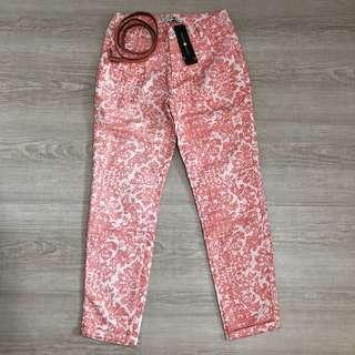 🚚 BNWT Cache Cache Embroidered Pants